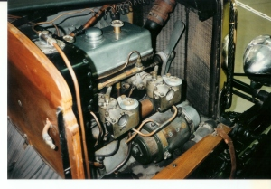 Carburetor detail on the 1926 Th. Schneider that is believed to have ran at the Le Mans 24h race.